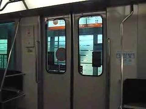 愛知高速交通100形のドア閉動画
