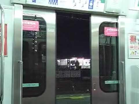 相鉄10000系のドア閉動画