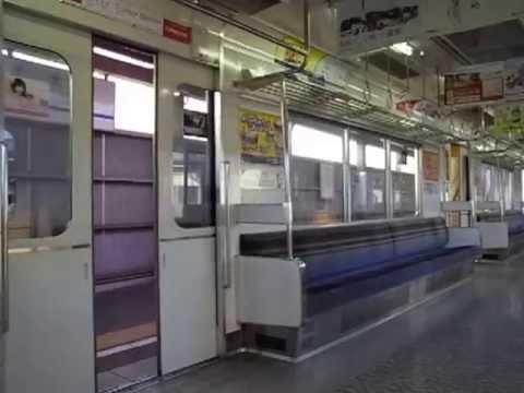 名鉄3100系のドア閉動画