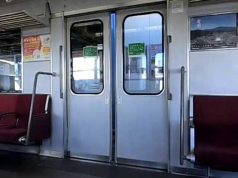 近鉄3220系のドア閉動画(山側)