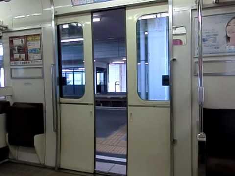 名鉄3500系のドア閉動画