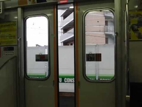 東武50050系(後期車)のドア閉動画