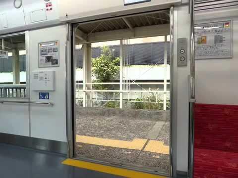 山陽6000系のドア開閉動画