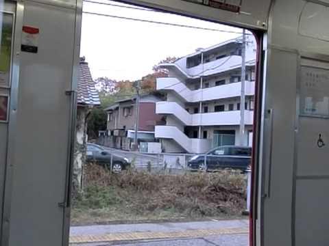 名鉄6000系のドア開閉動画(その1)