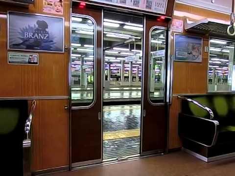 阪急7000系(7008F)のドア閉動画
