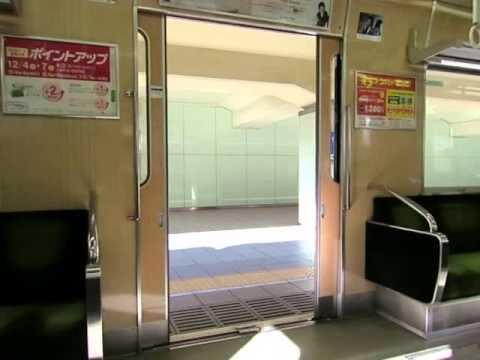 北大阪急行8000形(初期形)のドア閉動画(西側)