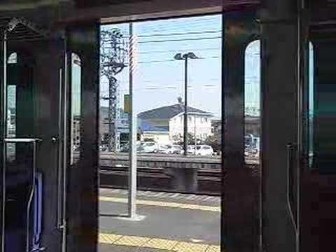 小田急8000形のドア閉動画