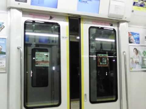 JR東日本 E231系(サハE231 4600番台)のドア閉動画